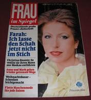 Princess Anne FRAU IM SPIEGEL - German November 1978 ULTRA RARE - Magazines & Newspapers