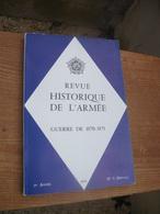 "Revue Historique De L'armée"" Numero Special ""guerre De 1870-1871"" - Livres"