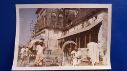 PHOTO DACCA PAKISTAN 1960 VOITURE POUSSE POUSSE VELEO - Pakistan