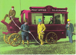 Postcard Of Mobile Telegraph Office At The Oxford/Cambridge Boat Race In 1872 (21419) - Postcards