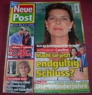 Princess Caroline Of Monaco - NEUE POST - German July 2011 ULTRA RARE - Revues & Journaux