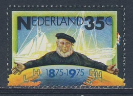"Nederland Netherlands Pays Bas 1975 Mi 1053 YT 1024 SG 1214 ** Cent. Stoomvaart-Maatschappij-Zeeland, ""Middelburg"" Ship - Transportmiddelen"