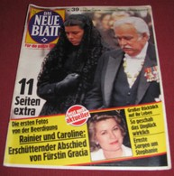 Princess Caroline Of Monaco DAS NEUE BLATT German September 1982 VERY RARE!!! - Magazines & Newspapers