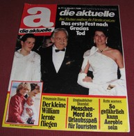Princess Caroline Of Monaco DIE AKTUELLE German March 1983 VERY RARE!!! - Magazines & Newspapers
