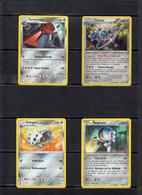 POKEMON  Lot De 4 Cartes  Série  PV   100 -120 -130-140  Base   Niveau 1 Et 2    En Excellent état - Pokemon