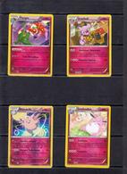 POKEMON  Lot De 4 Cartes  Série  PV   100-110-120   Niveau 1 Et 2    En Excellent état - Pokemon