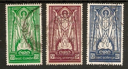 IRELAND 1937 SET SG 102/104 FINE USED Cat £200 - 1922-37 État Libre D'Irlande