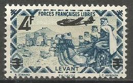 Levant - 1943 Airmail Surcharge MNH ** - Levant (1885-1946)