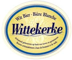 Belgium. Wittekerke. Wit Bier - Bière Blanche. Brassée Artisanalement à Base De Froment Et De Malt. Artisanaal Gebrouwen - Sous-bocks