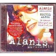 ALANIS  MORISETTE ° COLLECTION 1 CD ALBUM + 1 CD SINGLE  + DOUBLE DVD   FEAST  ON  SCRAPS - Musique & Instruments