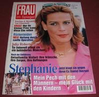 Princess Stephanie Of Monaco - FRAU IM SPIEGEL - German September 2000 ULTRA RARE - Magazines & Newspapers
