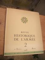 Revue Historique De L' Armée 1946 - Revues & Journaux