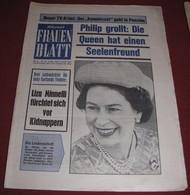 Queen Elizabeth II  KLEINES FRAUEN BLATT Austrian December 1975 ULTRA RARE - Magazines & Newspapers