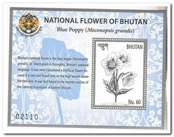 Bhutan 2018, Postfris MNH, Flowers - Bhoutan