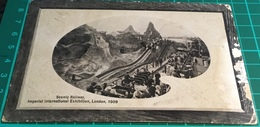 Scenic Railway, Imperial International Exhibition, London. 1909 - Exhibitions