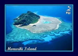 Fiji Islands Monuriki Island Aerial View New Postcard Fidschi AK - Fidschi