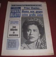 Queen Elizabeth II  KLEINES FRAUEN BLATT Austrian October 1976 ULTRA RARE - Magazines & Newspapers
