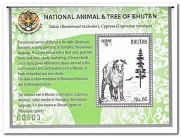 Bhutan 2018, Postfris MNH, Animals, Trees - Bhutan