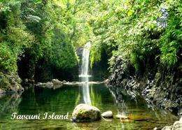 Fiji Islands Taveuni Island Waterfall New Postcard Fidschi AK - Fidschi