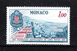 Monaco   - 1977.  Federazione Tennis  Montecarlo.  MNH - Tennis