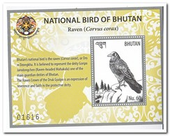 Bhutan 2018, Postfris MNH, Birds - Bhoutan
