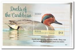 Bequia 2018, Postfris MNH, Birds, Ducks - St.-Vincent En De Grenadines