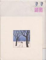 CARTE DE VOEUX TINTIN - STUDIO HERGE 1988 - - Christmas