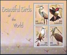 Bloc Sheet Oiseaux  Birds  Neuf  MNH ** Lesotho 2007 - Autres
