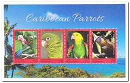 St. Vincent & The Grenadines 2018, Postfris MNH, Birds, Parrots - St.-Vincent En De Grenadines