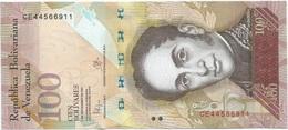 Venezuela 100 Bolívares 5-11-2015 Pk 93 J UNC - Venezuela
