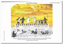 Frans Antarctica 2018, Postfris MNH, Birds, Music - Ongebruikt
