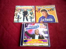 PATRICK  SEBASTIEN   ° COLLECTION DE 3 CD - Musique & Instruments