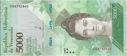Venezuela 5.000 Bolívares 13-12-2017 Pk 97 UNC - Venezuela