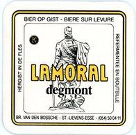 Belgium. Lamoral Degmont. Br. Van Den Bossche, Sint-Lievens-Esse. Bier Op Gist. Hergist In De Fles.'Egmont. Bière Levure - Sous-bocks