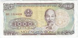 Vietnam 1,000 Dong 1988 Pk 106 A Ref 4 - Vietnam