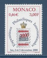 Monaco - YT N° 2229 - Neuf Sans Charnière - 1999 - Monaco