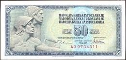 Yugoslavia 50 Dinara 12-8-1978 Pk 89 A Firma 10 UNC - Yugoslavia