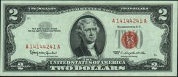 U.S.A. UNITED STATES Of AMERICA - 2 Dollars 1963 UNC P.382 A - Biglietti Degli Stati Uniti (1928-1953)