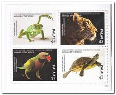 Palau 2017, Postfris MNH, Birds, Animals - Palau
