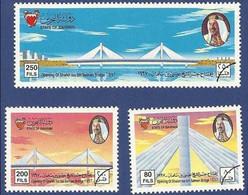 BAHRAIN SPECIMEN MNH 1997  OPENING OF SHAIKH ISA BIN SALMAN BRIDGE - Bahreïn (1965-...)