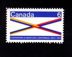 753843245 1970 SCOTT  505 POSTFRIS MINT NEVER HINGED EINWANDFREI XX MANITOBA CROSSROADS OF CANADAN - 1952-.... Règne D'Elizabeth II