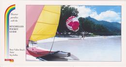 SEYCHELLES - BEAU VALLON BEACH A MAHE  - SPORT NAUTIQUE SUR LA PLAGE - Seychelles