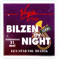 Belgium. Virgin Cola. Bilzen By Night. Donderdag 21 Mei 1998. Een Stad Vol Muziek. - Sous-bocks