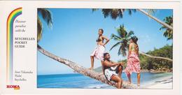 SEYCHELLES -  ANSE TAKAMAKA  ANIME AVEC JEUNE FLILE SEYCHELLOISE FEMMES MAILLOT DE BAIN - Seychelles