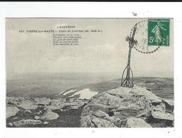 CPA 42  Pierre Sur Haute Croix Du Sommet 657 Auvergne écrite 1915 TBE - France