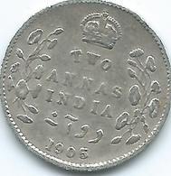 India - Edward VII - 1905 - 2 Annas - KM505 - Inde