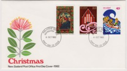 New Zealand 1982 Christmas FDC - FDC