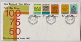 New Zealand 1977 Commemorative Issue FDC - FDC