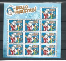 Minifeuille Hello Maestro BF139 - Unused Stamps