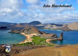 Galapagos Islands Bartolome Island UNESCO New Postcard Galapagosinseln AK - Ecuador